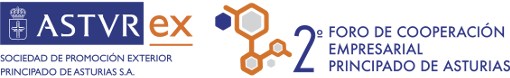 Logo ASTUREX - 2º Foro de Cooperación Empresarial Principado de Asturias